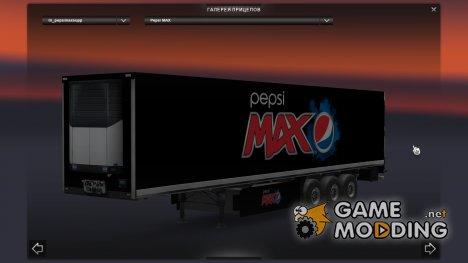 Pepsi Max Trailer for Euro Truck Simulator 2