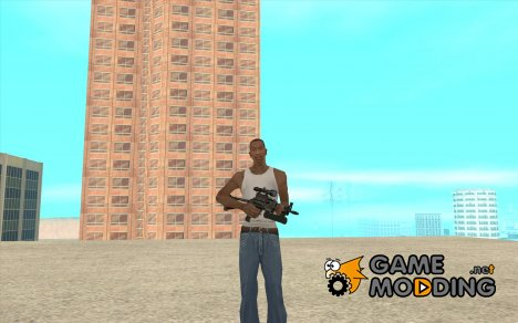 ПП-19 Бизон с оптикой for GTA San Andreas