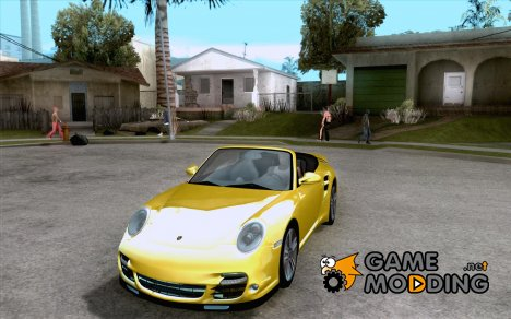 Porsche 911 Cabriolet 2010 for GTA San Andreas