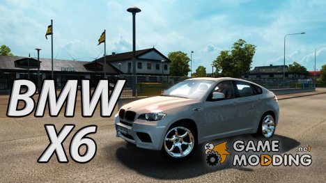 BMW X6 for Euro Truck Simulator 2