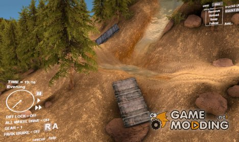 Карта Guirbaden v1.4 для Spintires DEMO 2013