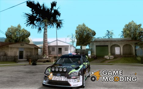 Ford Focus RS Monster Energy для GTA San Andreas