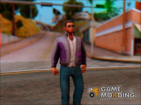 Johnny Gat From Saints Row for GTA San Andreas