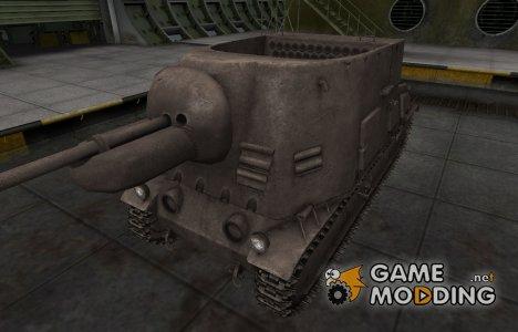 Перекрашенный французкий скин для S35 CA для World of Tanks
