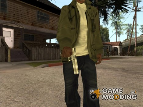 Пак оружий от Старины Кроу for GTA San Andreas