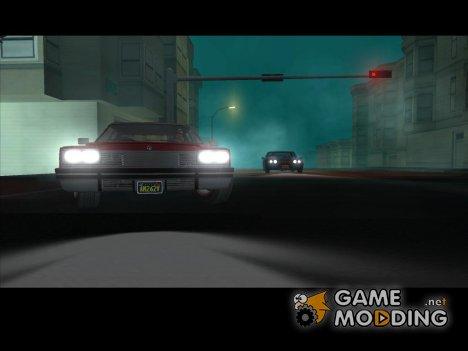 Свет фар из GTA 5 for GTA San Andreas