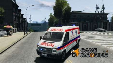 Ford Transit Ambulance для GTA 4
