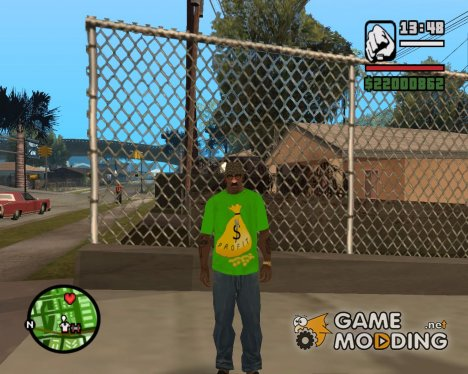 Футболка Money for GTA San Andreas