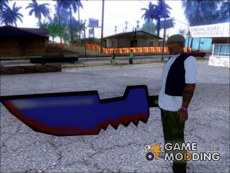 Мультяшный меч for GTA San Andreas