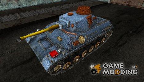 Шкурка для PzKpfw III/IV для World of Tanks