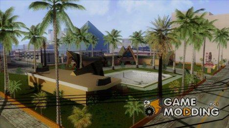 Новые текстуры для казино Пилигрим for GTA San Andreas