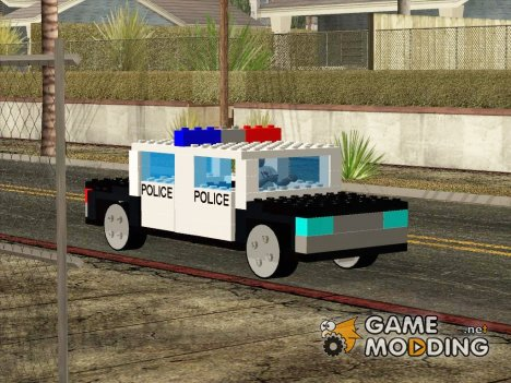 LEGO Police LS for GTA San Andreas