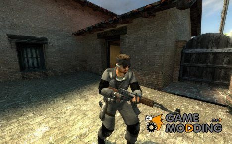 Solid Snake Leet : Mgs1 for Counter-Strike Source