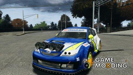 Subaru Impreza WRX STI Rallycross BFGoodrich Vinyl для GTA 4