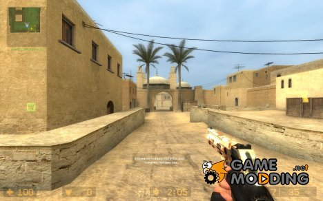 Camo Desert Eagle для Counter-Strike Source