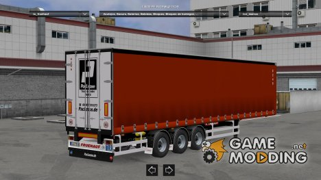 European Trailers Pack v 1.0 for Euro Truck Simulator 2