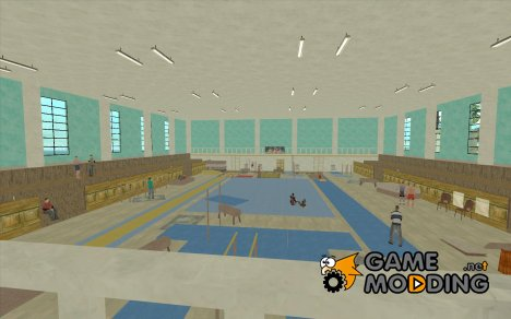 Tricking Gym for GTA San Andreas
