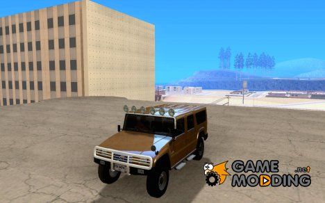 Toyota Mega Cruiser для GTA San Andreas