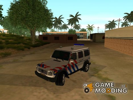 European Emergency Mercedes-Benz G 2008 for GTA San Andreas