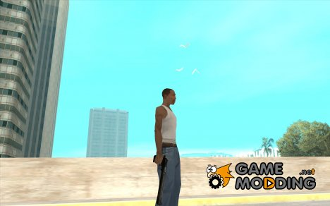 Black Chrome Eagle для GTA San Andreas