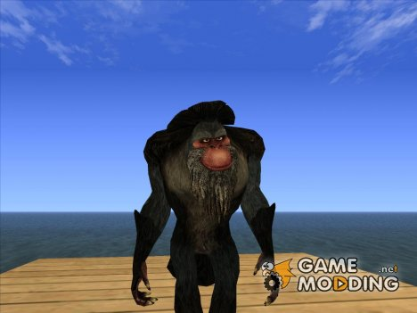 Captain Gutt (Ice Age 4) для GTA San Andreas