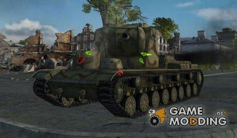Мод цветные пробития для World of Tanks