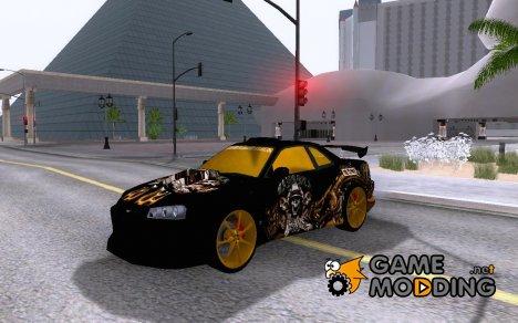 Nissan Skyline R32 Gangsta Clãn для GTA San Andreas