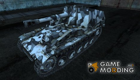 Wespe 02 for World of Tanks