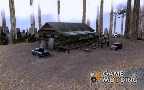 Туристы на Горе Чиллиад v.2 для GTA San Andreas