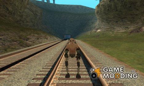 Инопланетное существо для GTA San Andreas