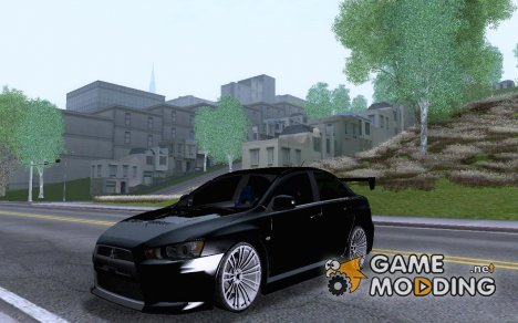 Mitsubishi lancer X for GTA San Andreas