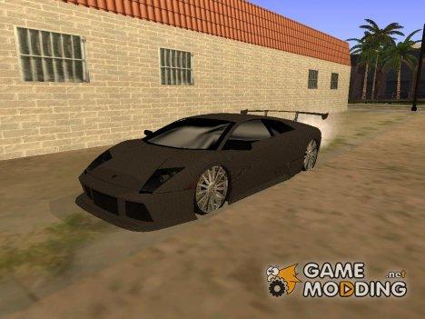 Lamborghini Murcielago GT Carbone для GTA San Andreas