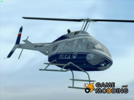Bell 206B-3 Jet Ranger III - Polish Police for GTA San Andreas