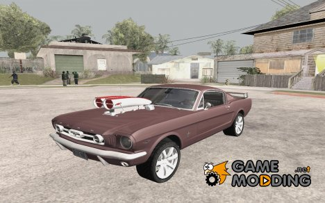 1966 Ford Mustang Fastback Chrome Edition для GTA San Andreas