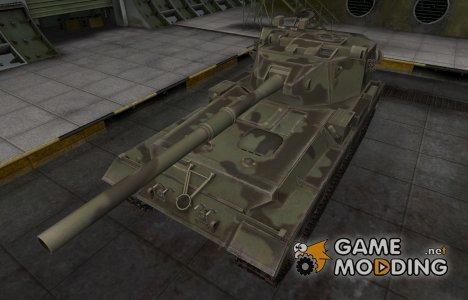Пустынный скин для FV215b (183) для World of Tanks