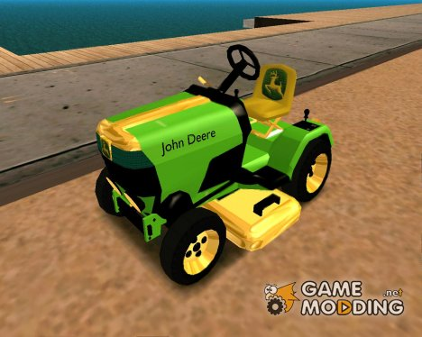 JDeere-Mower for GTA San Andreas
