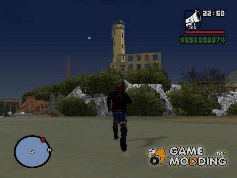 Алькатрас for GTA San Andreas