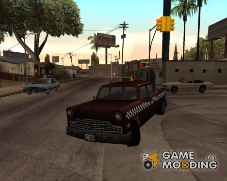 Borgnine Cabbie III для GTA San Andreas
