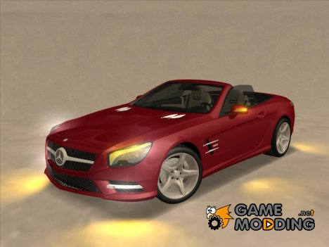 Mercedes-Benz SL500 2013 for GTA San Andreas