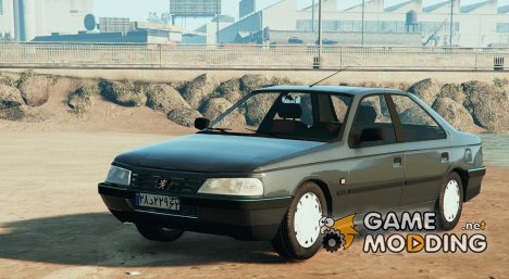 Peugeot 405 GLX для GTA 5