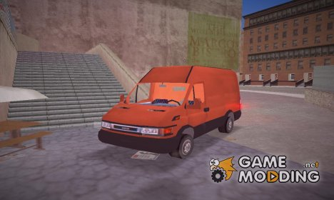 Iveco Daily Van for GTA 3