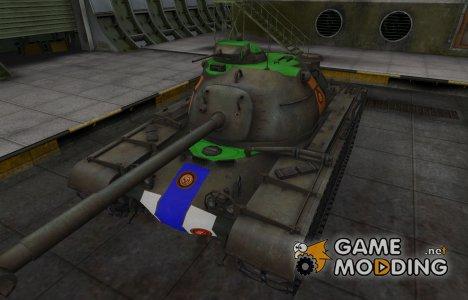 Качественный скин для M48A1 Patton for World of Tanks