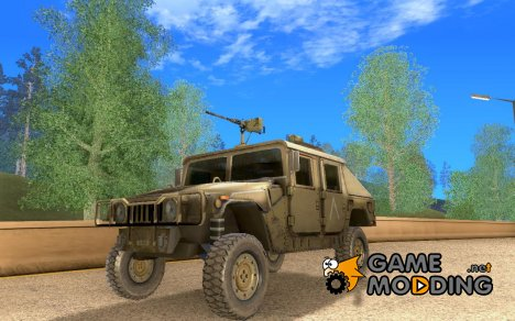 Afghanistan Humvee for GTA San Andreas