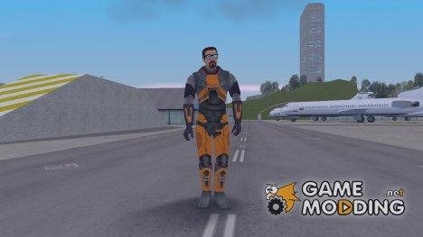 Gordon Freeman для GTA 3