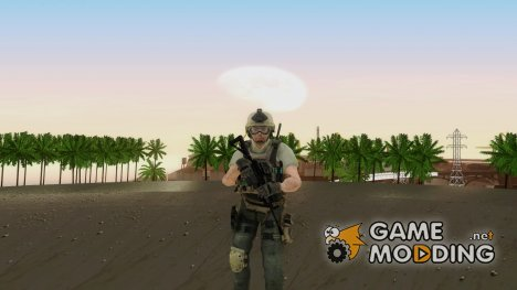 Modern Warfare 2 Soldier 19 для GTA San Andreas