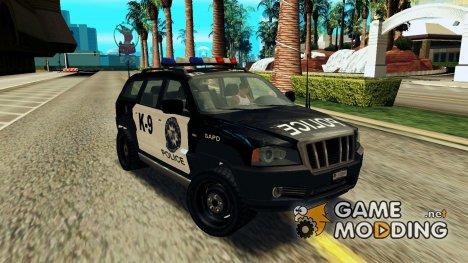 NFS Suv Rhino Light - Police car 2004 v.2 for GTA San Andreas