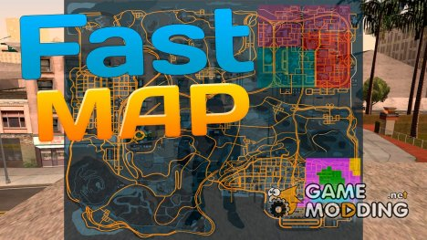Fast MAP (Only SAMP) for GTA San Andreas