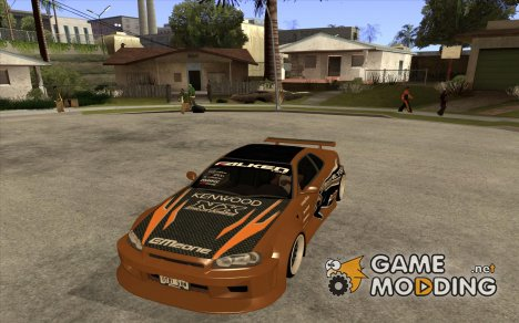 Nissan Skyline GTR - EMzone B-day Car для GTA San Andreas