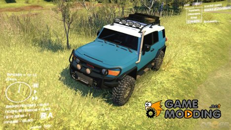 Toyota FJ Cruiser 2011 Custom v1.0 for Spintires DEMO 2013