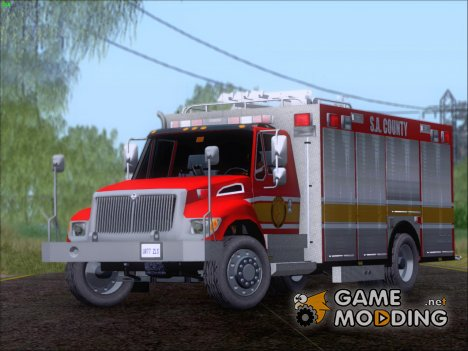 Pierce Commercial SACFD Rescue Unit for GTA San Andreas